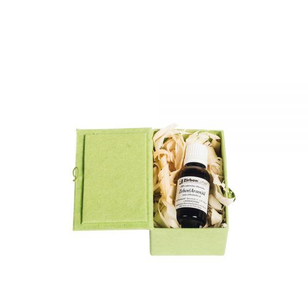 Zirbenöl / Arvenöl / Zirbenkiefernöl als Geschenk