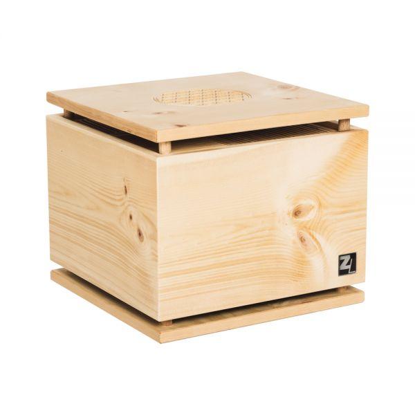 ZirbenLüfter ® CUBE pure für 40 m2, Luftreiniger, Luftbefeuchter