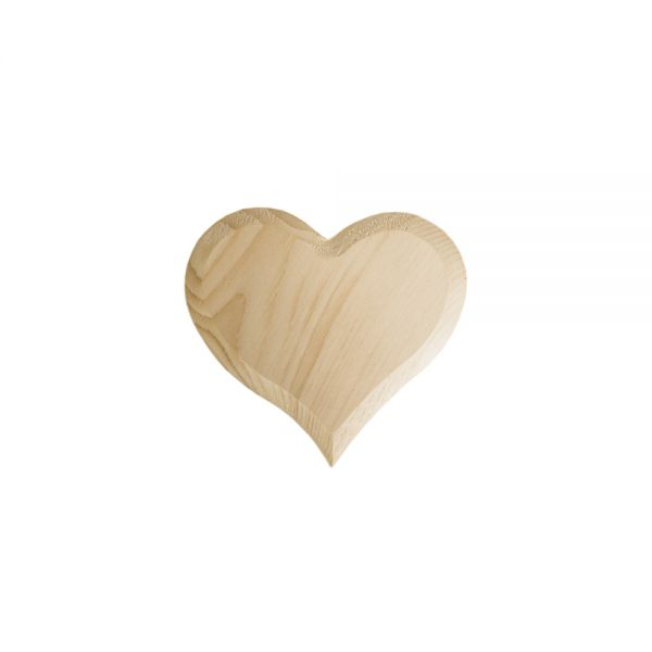 Heart of swiss stone pine - machine-made - 9,5 cm