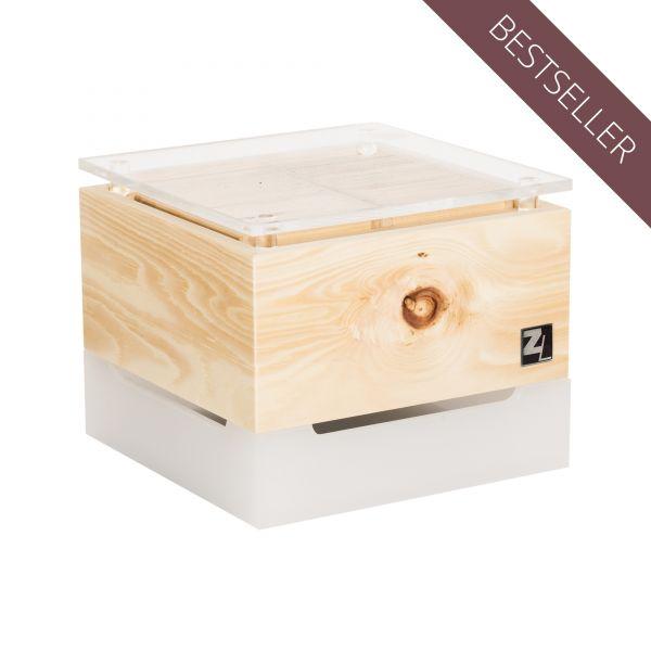 ZirbenLüfter ® CUBE mini cristall für 15 m2
