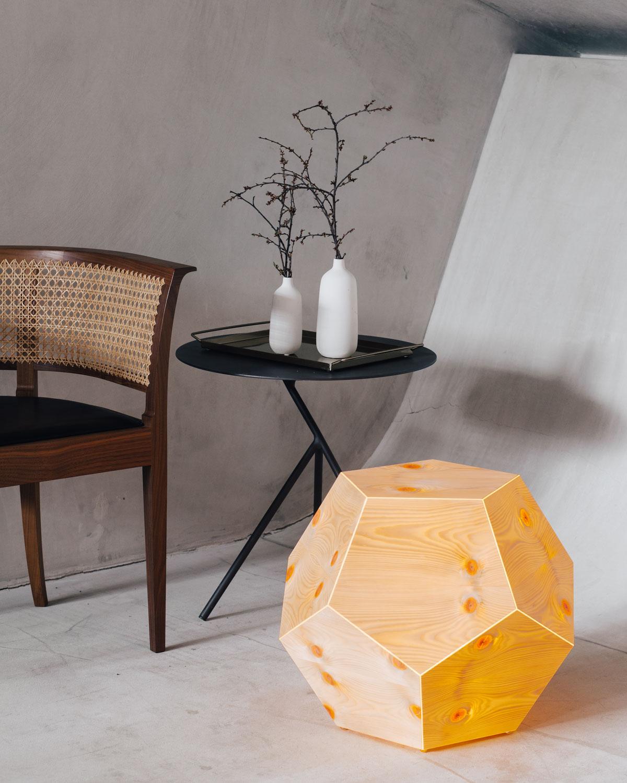 Zirbenlufter Lamp Dode3 Made Of Stone Pine Zirbenlufter